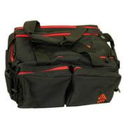 Leapers Inc. UTG All-In-One Range Bag (UTG All-in-1Range Bag; Black/Crimson)