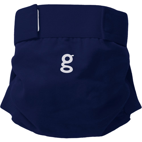 gDiapers gPants - genius blue (Choose Your Size)