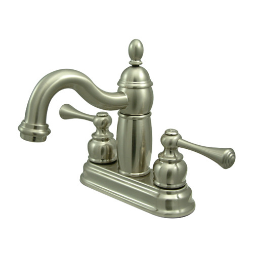 Kingston Brass  KB190.BL  Lavatory  Heritage  Faucet  Double Handle  ;Satin Nickel