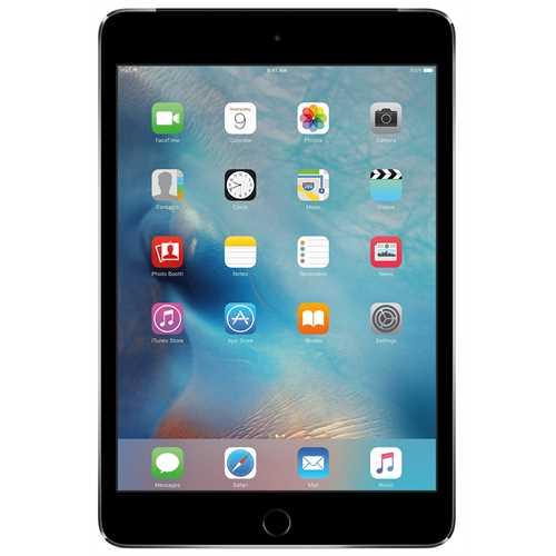 Refurbished Apple iPad Mini 4 Wi-Fi + Cell 16GB, Sprint, Space Gray