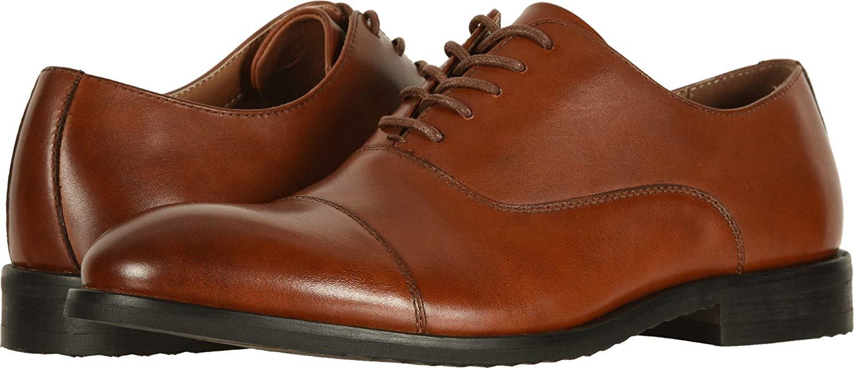 FRYE Men's Scott Cap Toe Cognac Leather