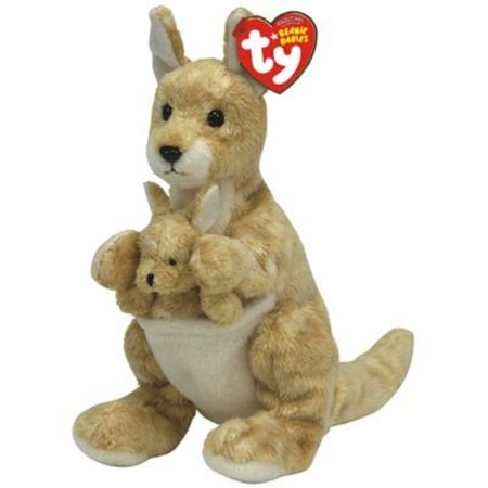 TY Beanie Baby - RICOCHET the - Kangaroo Baby