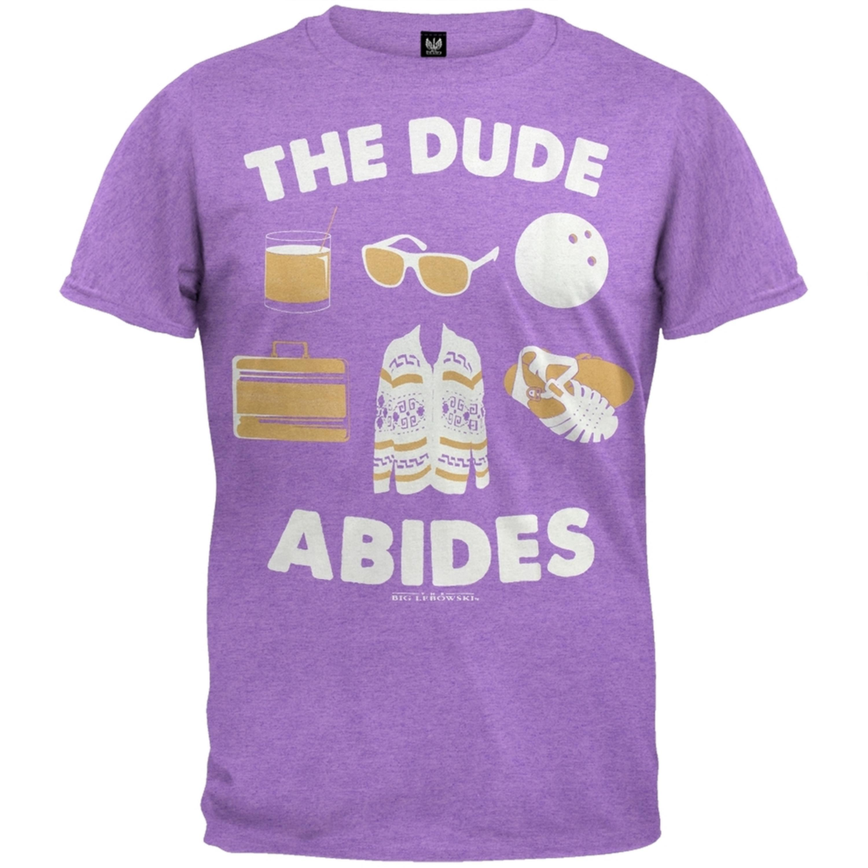 Big Lebowski - The Dude Abides Soft T-Shirt