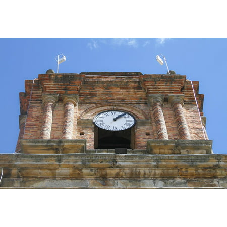 Hours Party City (Canvas Print Tower Clock Architecture People Hour Urban City Stretched Canvas 10 x)