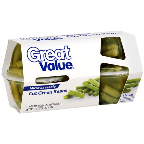 Great Value: Cut Green Beans, 16 Oz