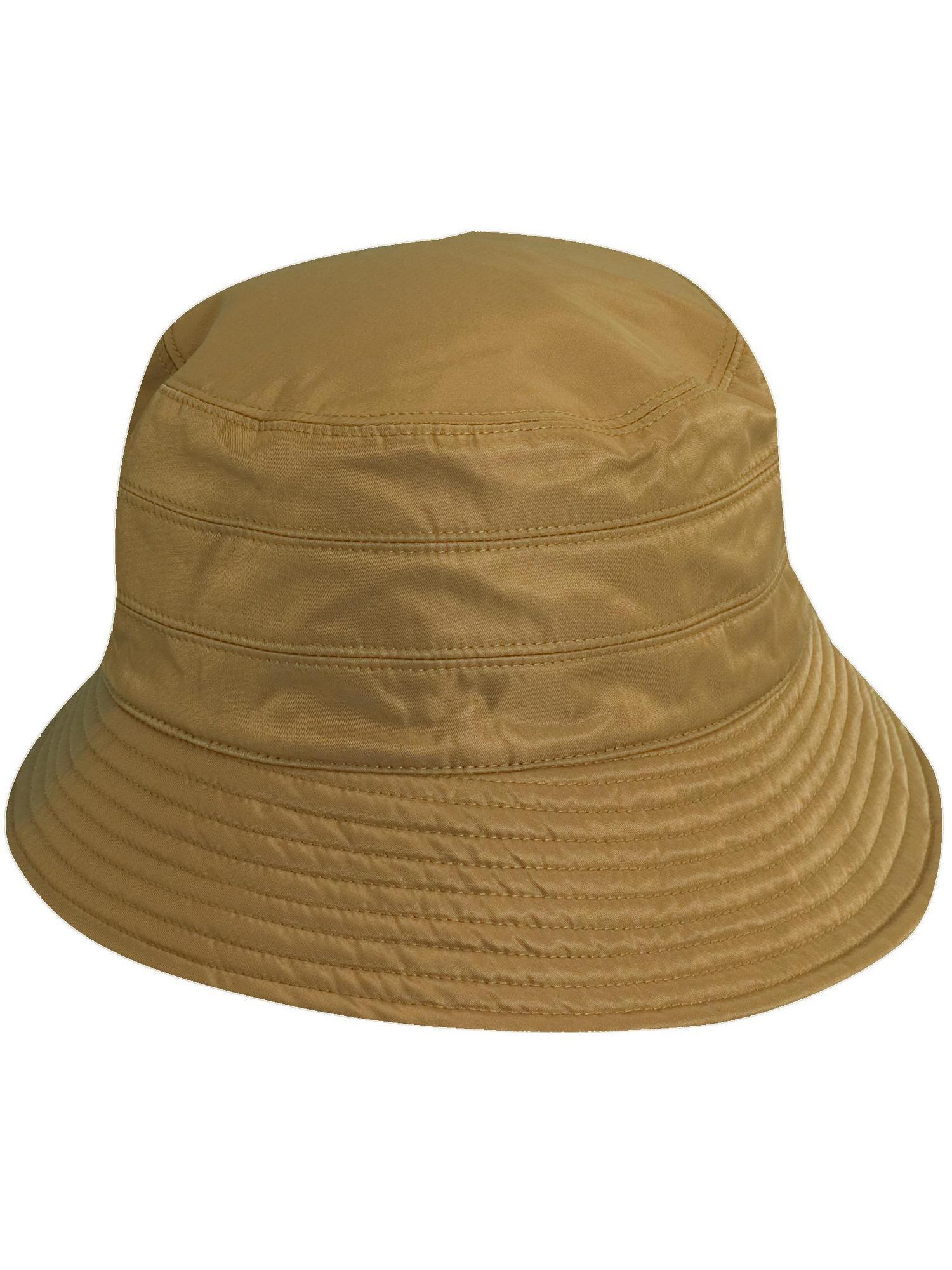 Charcoal One Size Scala Classico Womens Waterproof 3 Inch Brim Lined Rain Hat