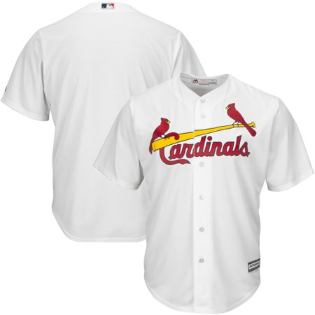 St. Louis Cardinals Majestic Big & Tall Cool Base Team Jersey - White