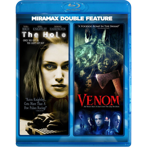 Hole (2001/ Miramax Echo Bridge/ Blu-ray) / Venom (2005/ Blu-ray)