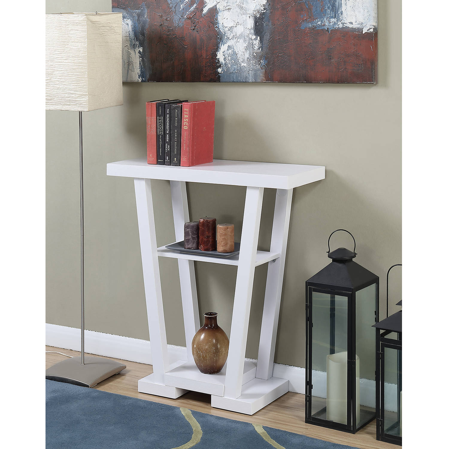 Convenience Concepts Newport V Console Table, Multiple Finishes by Convenience Concepts Inc