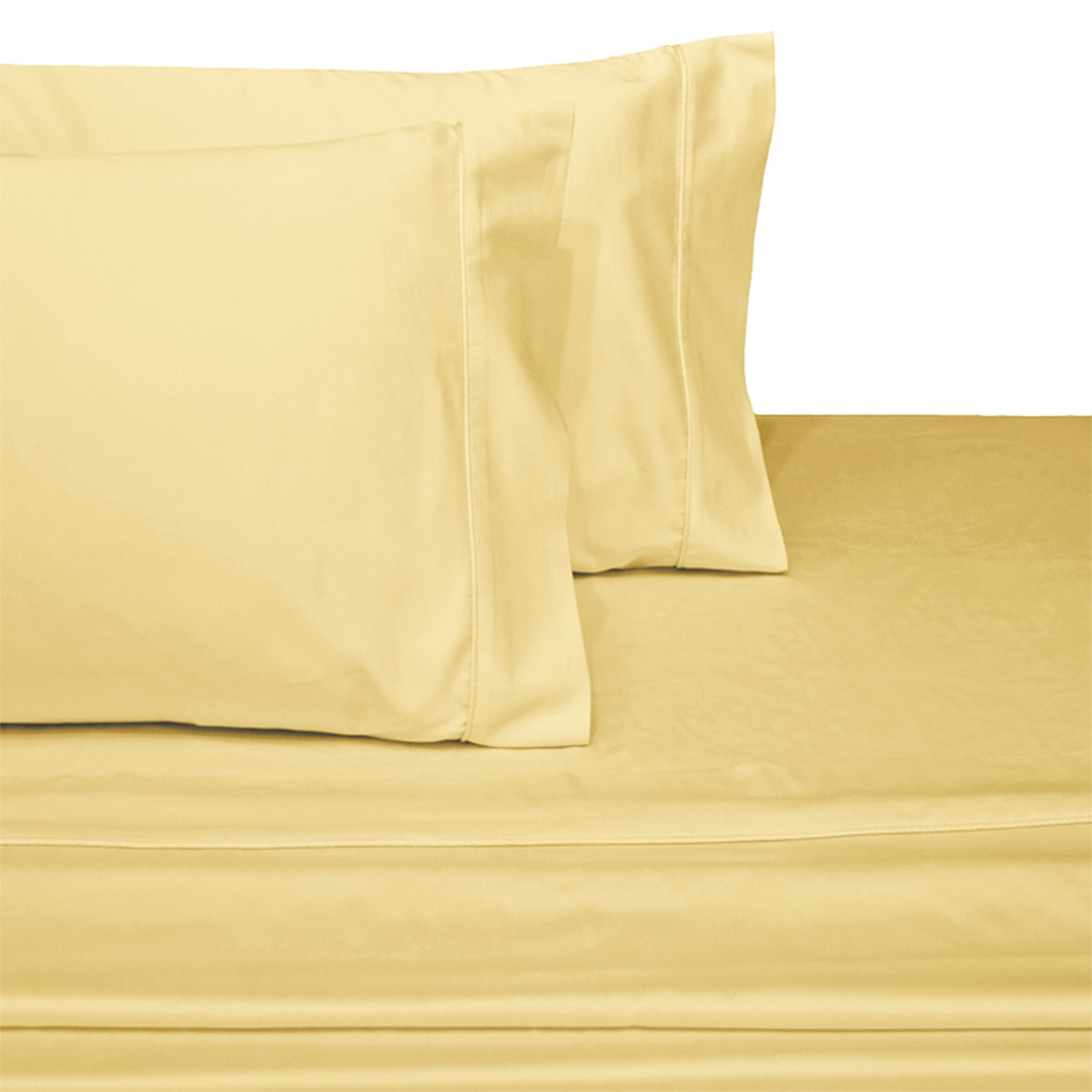 Luxury Attached Waterbed Sheets 100% Cotton 600 Thread Count Solid- Queen - Periwinkle