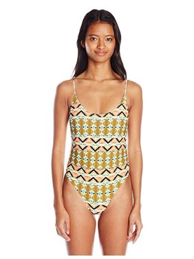 5cc47ff13f5 Product Image Volcom Women's Native Drift 1 Piece Bathing Suit, Burnt  Sienna, X-Small