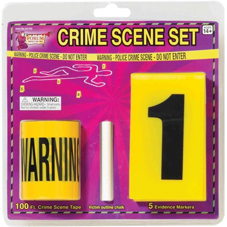 Crime Scene Set Halloween Decoration