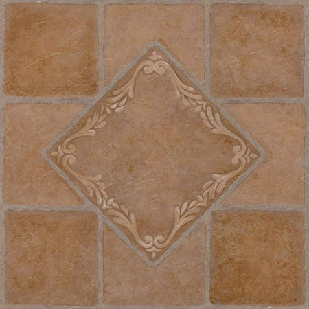 Achim Nexus South West Ceramic 12x12 Self Adhesive Vinyl Floor Tile - 20 Tiles/20 sq.