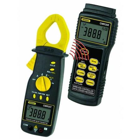 General Tools & Instruments CMR35 Wireless 600V Trms Clamp Meter-Data Logging System Etl Cat Iii