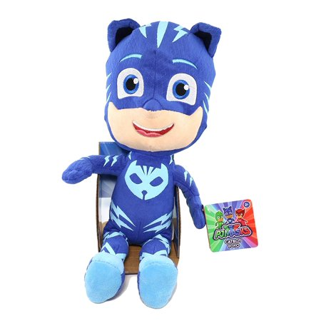Just Play PJ Masks - 14-Inch Plush Toy Catboy - Night Toys