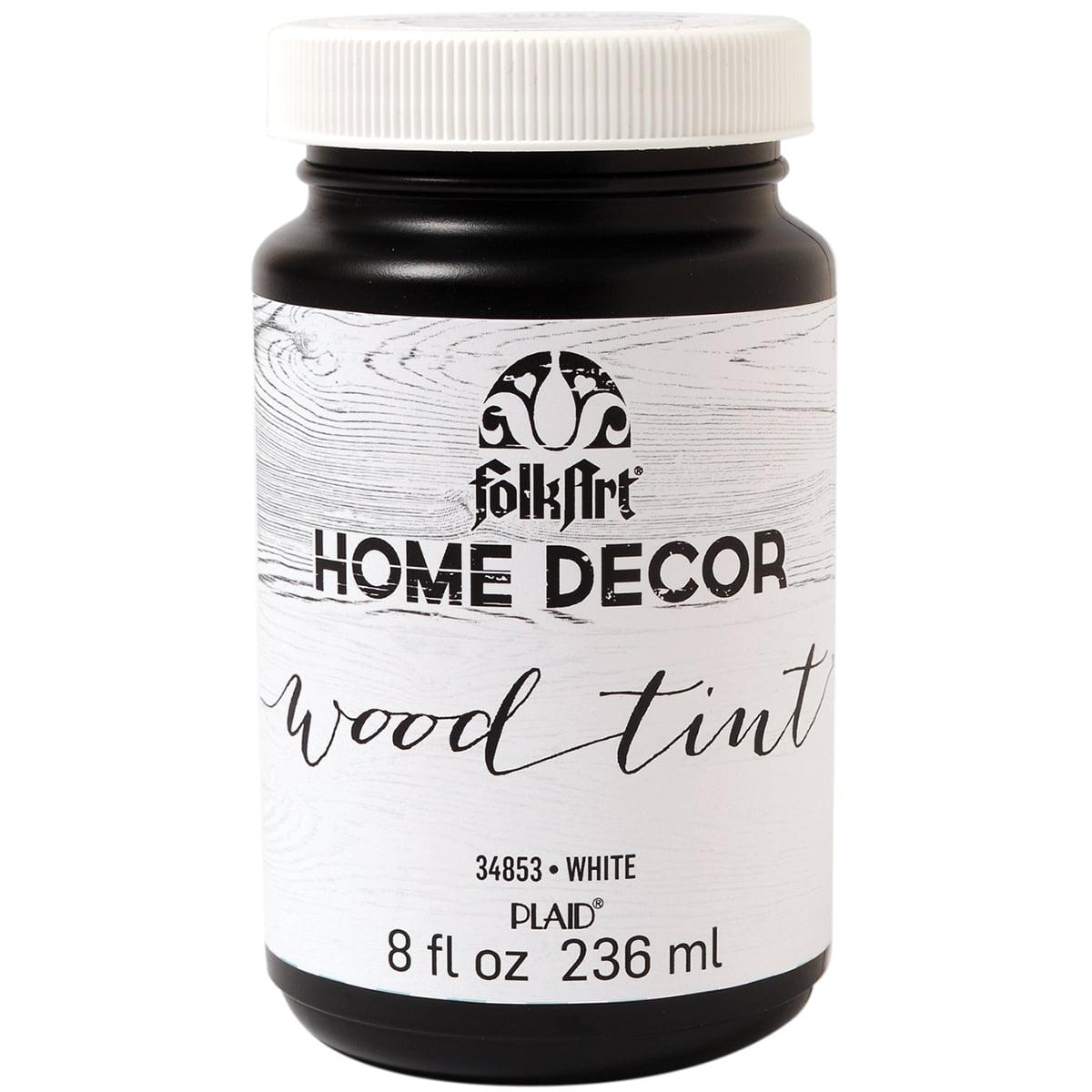FolkArt Home Decor Wood Tint-White