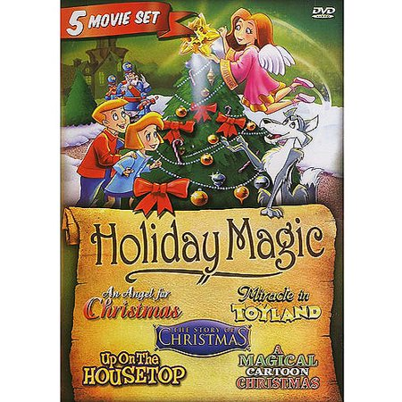 Holiday Magic: An Angel For Christmas / A Magical Cartoon Christmas / Miracle In Toyland / The Story Of Christmas / Up On The Housetop](Halloween Cartoons On Disney Channel)