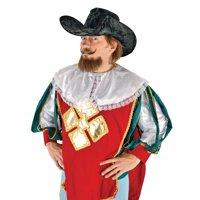 Musketeer Adult Halloween Black Hat