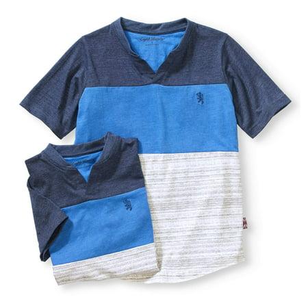 Boys' 2 Pc Blue Short Sleeve T-Shirt Combo