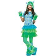 Monster Miss Teen Halloween Costume - One Size