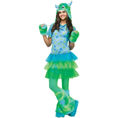 Monster Miss Teen Halloween Costume - One Size