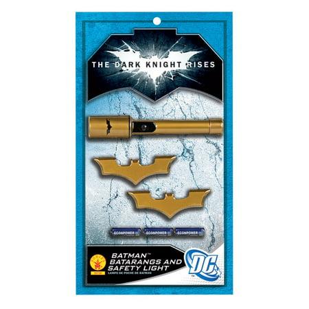 Batman Batarangs and Safety Light (Halloween Safety Psa)