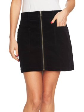 Women's Patch Pockets Corduroy Mini Skirt 4