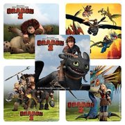 How To Train Your Dragon 2 Stickers - 75 Per Pack