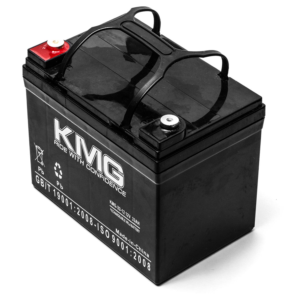 KMG 12V 33Ah Replacement Battery for Hoveround TRANSPORTER GL MPV5 BOLERO - image 2 of 3