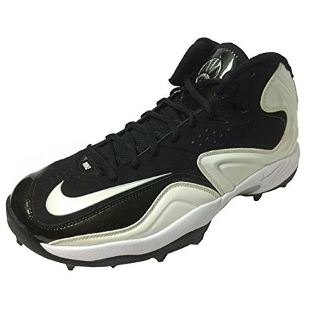 108071aaa0d Nike - Nike Zoom Merciless Pro Shark Black White Lineman Cleat US 14.5 -  Walmart.com