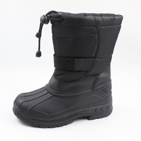 Skadoo Kids Black Snow Boots Toddler/ Little Kid/ Big Kid Sizes. Style#
