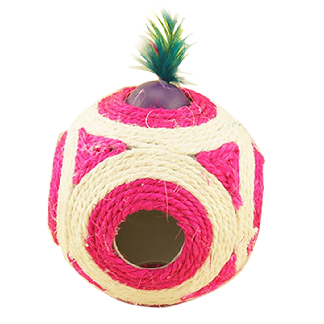 Cat Toy Ball,Legendog Sisal Playing Ball Training Interactive Toy for Pet Dogs & Cats by Legendog
