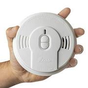 Kidde Safety - 21026055 Kidde Sealed Lithium Battery Power Smoke Detector Alarm   Model i9010, White