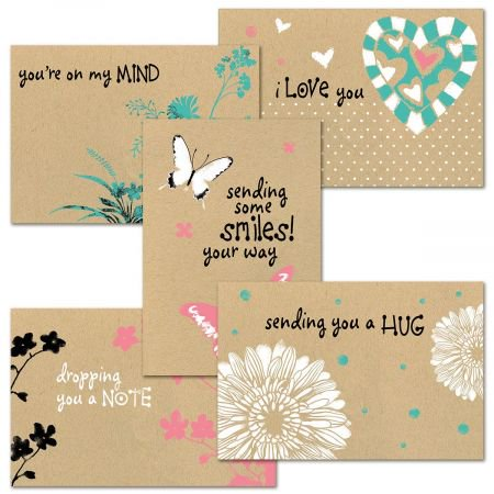 Sec Card (Thinking of You Kraft Card Value Pack - Set of 20)