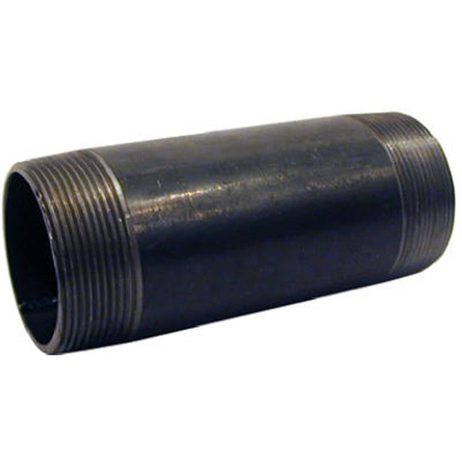 NB-10100 1 x 10 in. Black Nipple - image 1 of 1