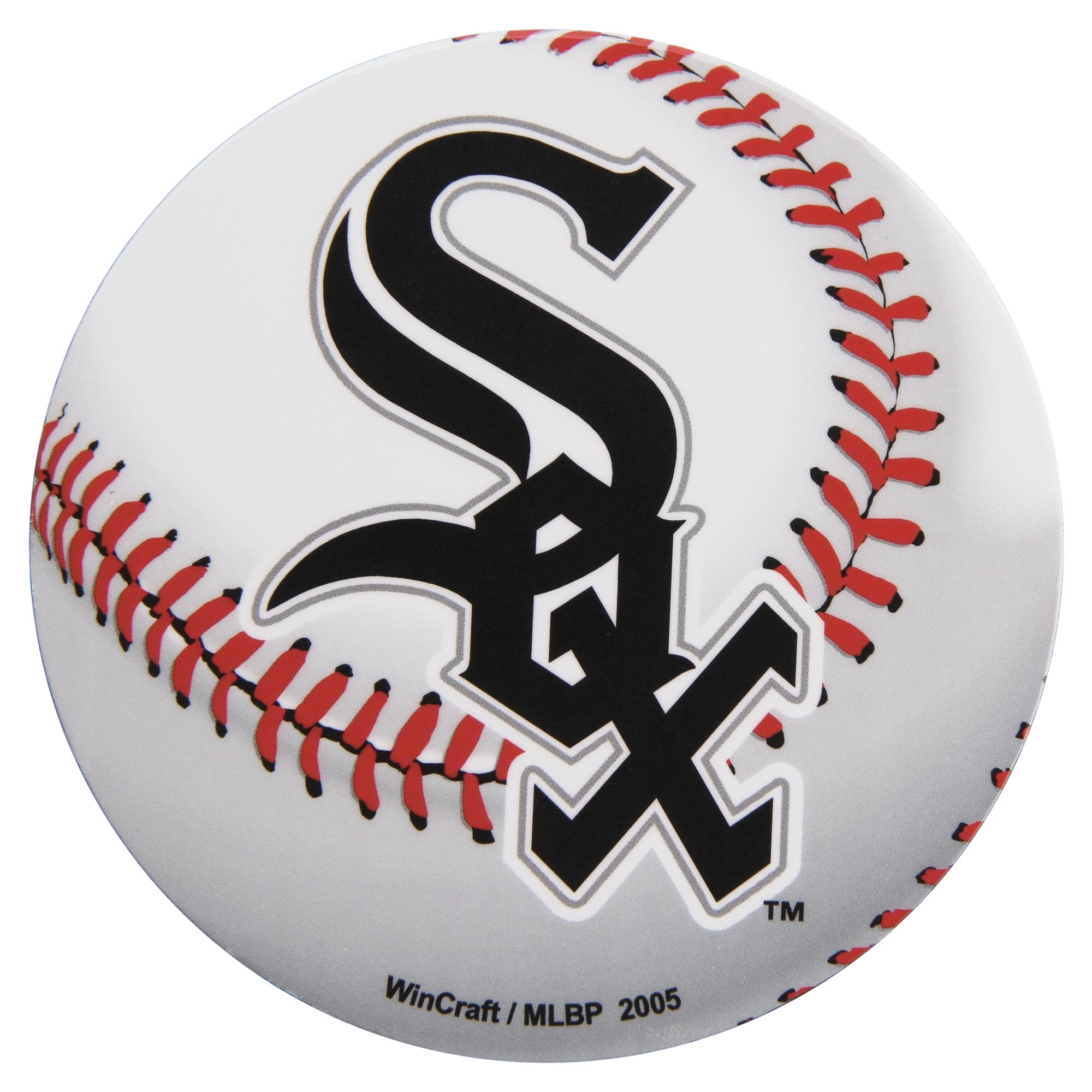 "Chicago White Sox WinCraft 5"" Die-Cut Car Magnet - No Size"