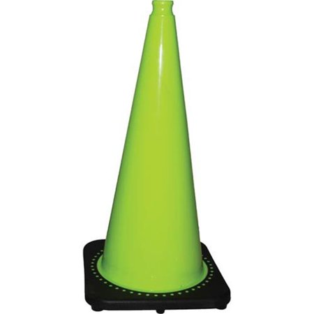 28 in. Fluorescent Green Cone - image 1 of 1