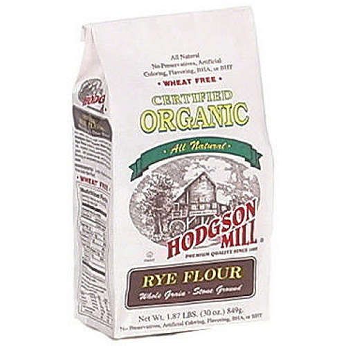Hodgson Mill Organic Rye Flour, 30 oz (Pack of 6)