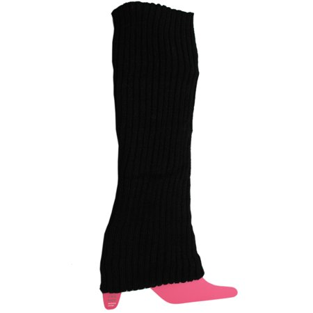 Black Knitted Scandinavian Style Leg Warmer](Leg Warmers Band)