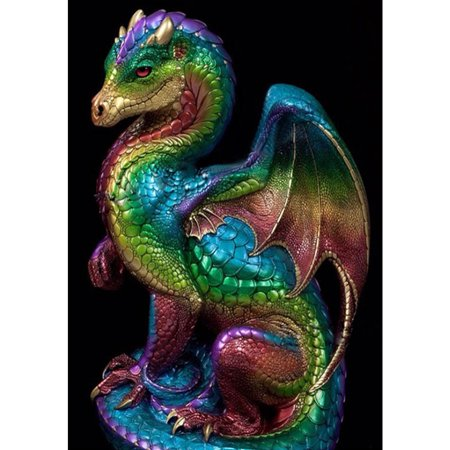 Dragon Painting - Mrosaa Dragon DIY 5D Diamond Painting Full Drill Embroidery Cross Stitch Kit Home Decor