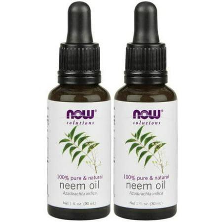 Now Foods - 1 fl oz Neem Oil (Pack of 2) (Foods Neem Oil)