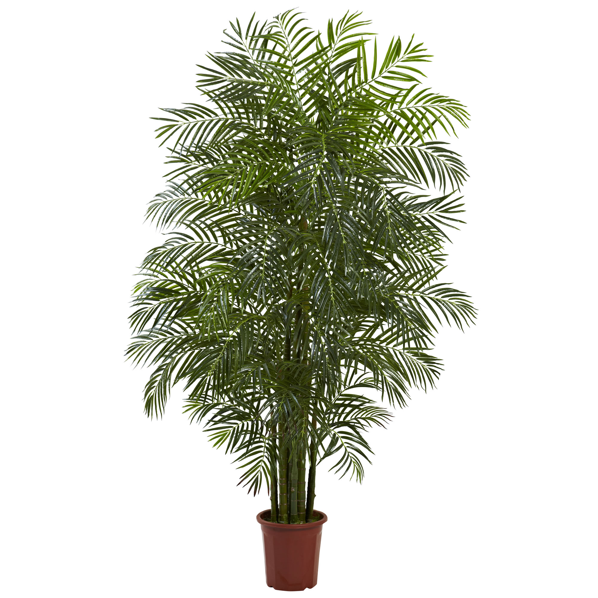 Nearly Natural 7.5 ft. Areca Palm Tree UV Resistant (Indoor/Outdoor)