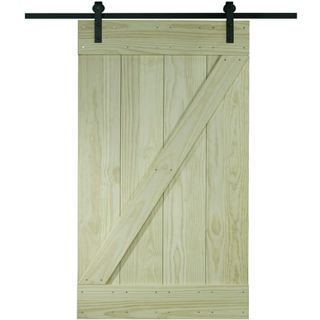 Wood Barn Door Kit, 30
