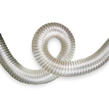25 ft. Industrial Ducting Hose, Clear ,Hi-Tech Duravent, 0630-0800-0501-60