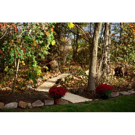 Furniture Barn USA™ Pressure Treated Pine Roll-Up Outdoor Garden Walk-Way