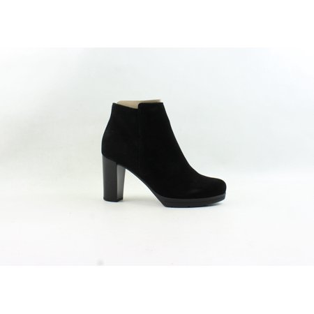 La Canadienne Womens Miko Black Suede Fashion Boots Size 9.5
