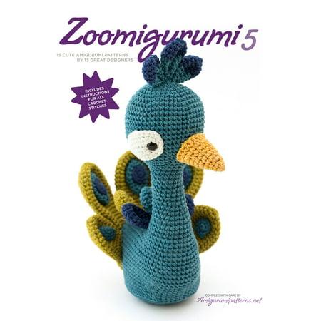 Zoomigurumi 5 : 15 cute amigurumi patterns by 12 great -