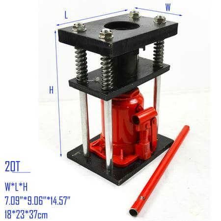 - Manual Benchtop Hydraulic Bottle Jack Hose Crimper Hydraulic Hose Crimper 20T