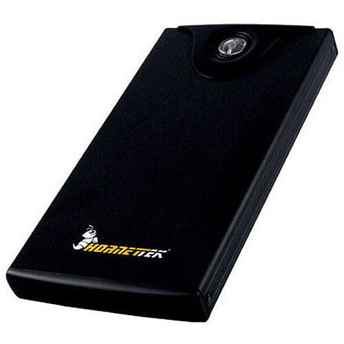 "Hornettek OT-201U2S Lycan 2.5"" USB 2.0 External Enclosure with 1-Touch Backup Software"