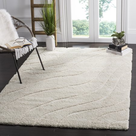 Safavieh Florida Tabitha Geometric Waves Shag Area Rug Or Runner